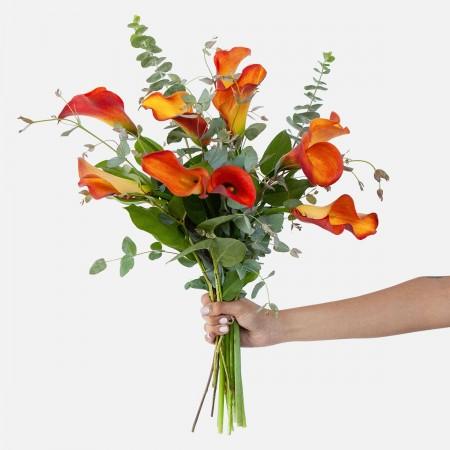 Mango Calla Lily Bouquet