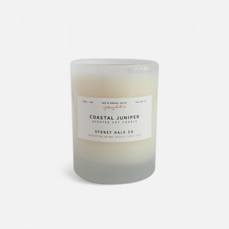 Coastal Juniper Scented Soy Candle