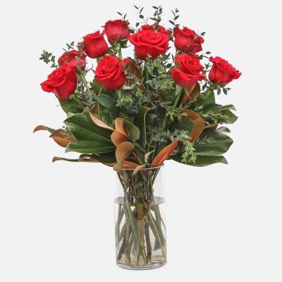 1-Dozen Elegant Roses Just Because