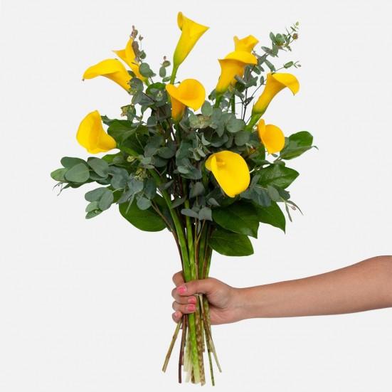 Yellow Calla Lily Bouquet Calla Lilies