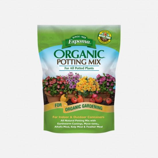 Espoma Organic Potting Mix - 8qt Soil & Chemicals
