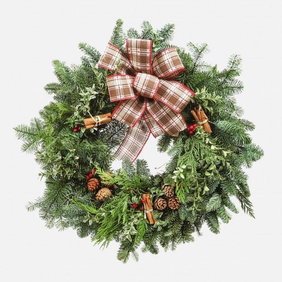 Cinnamon Spice Wreath - Plantshed.com