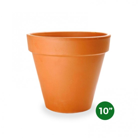 Terra Cotta Pot - 10'' Pottery