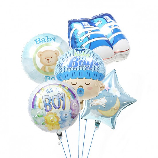 New Baby Boy Balloons - plantshed.com