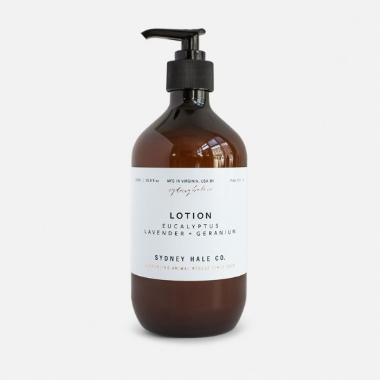 Eucalyptus, Lavender + Geranium Scented Lotion Mother's Day