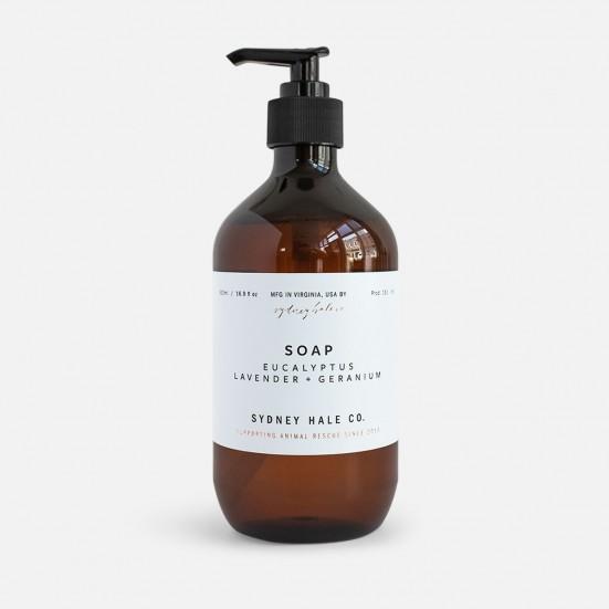Eucalyptus, Lavender + Geranium Scented Soap Related