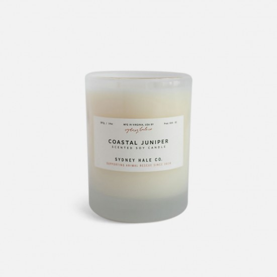 Coastal Juniper Scented Soy Candle Mother's Day