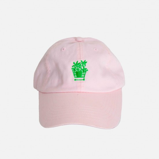 Vintage Pink Cotton Hat Home & Lifestyle