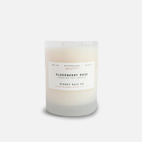 Elderberry Rose Scented Soy Candle Mother's Day