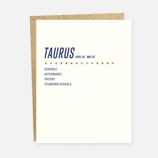 Taurus Card Home & Lifestyle