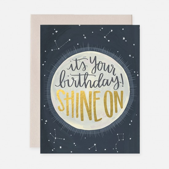 Shine On Birthday Card Home & Lifestyle