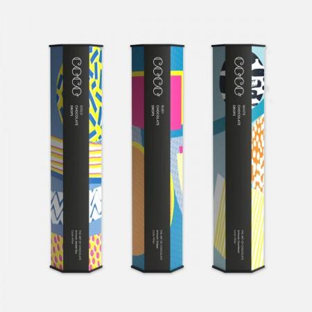 COCO White Chocolate Drops