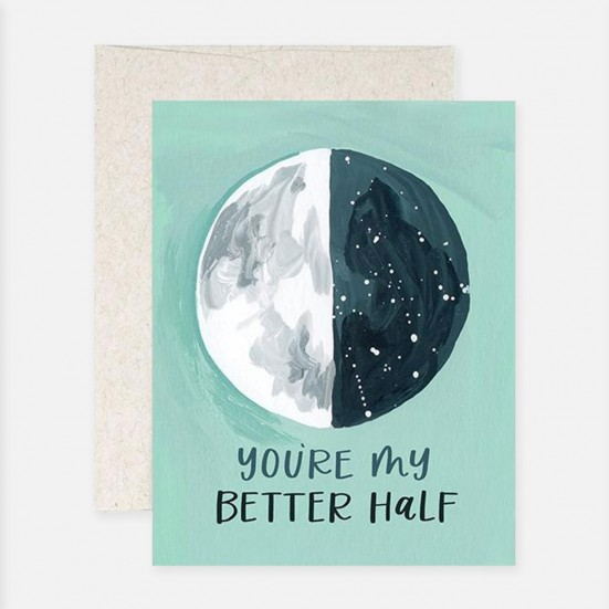 Better Half Moon Card Home & Lifestyle