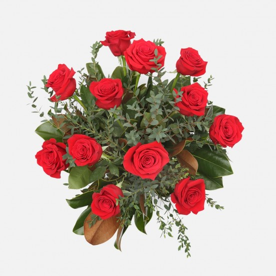 1-Dozen Elegant Roses Flower Delivery in New Jersey
