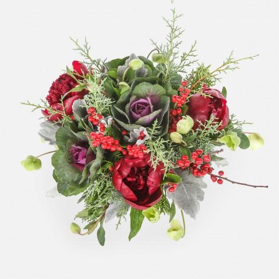 Joy to the World - Peonies Brassicas - PlantShed.com
