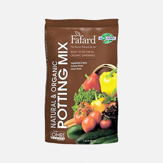 Fafard Organic Potting Mix Soil & Chemicals