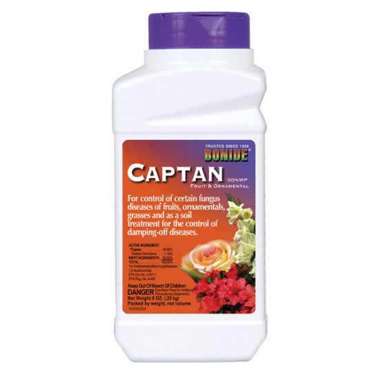 Captan Bonide 8oz Chemicals