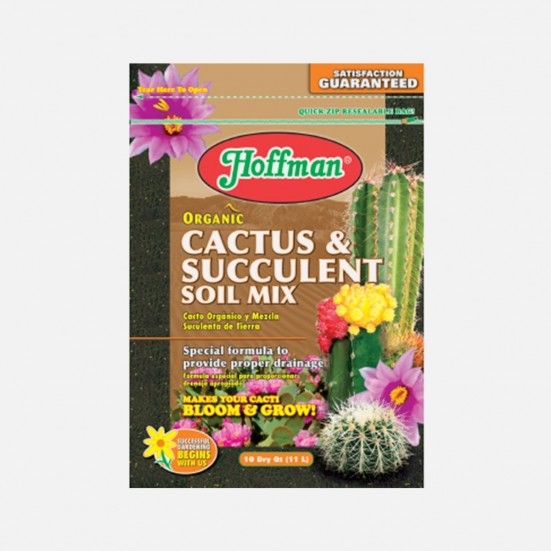 Hoffman Organic Cactus and Succulent Soil Mix Soil & Chemicals