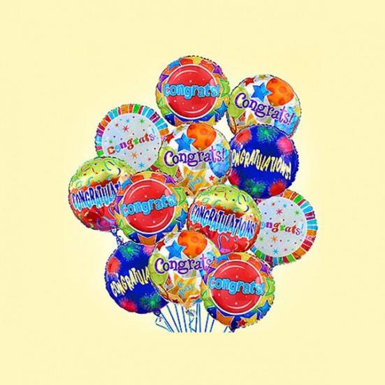 Congratulations (half dozen) Balloons