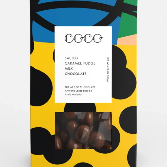 COCO Salted Caramel Fudge - Milk Mother's Day
