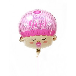 Baby Girl Balloon - plantshed.com